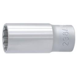 """Capete chei tubulare varianta lunga 3/8"""" cu 12 laturi 238/1L12p UNIOR (0)"""